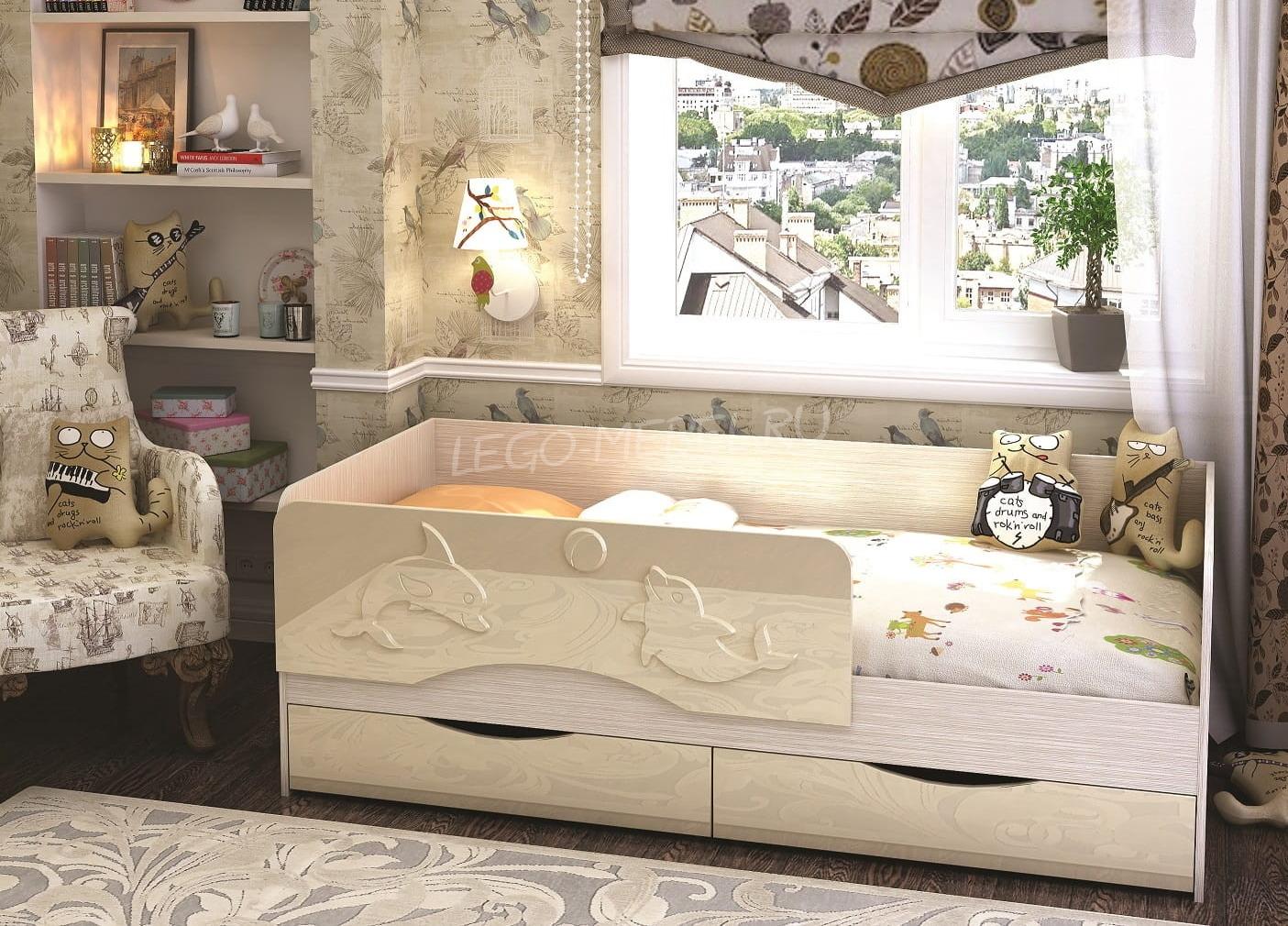 Кровать Дельфин 1800*800