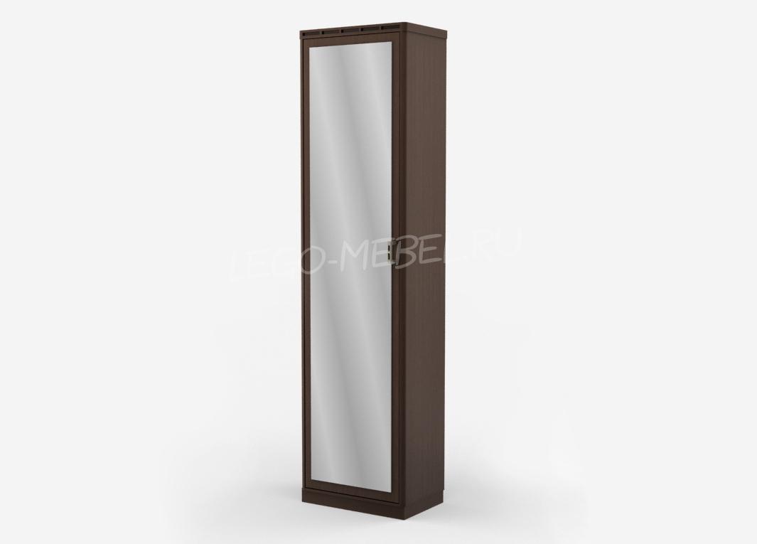 Кэри Голд Шкаф 1-дв. с зеркалом