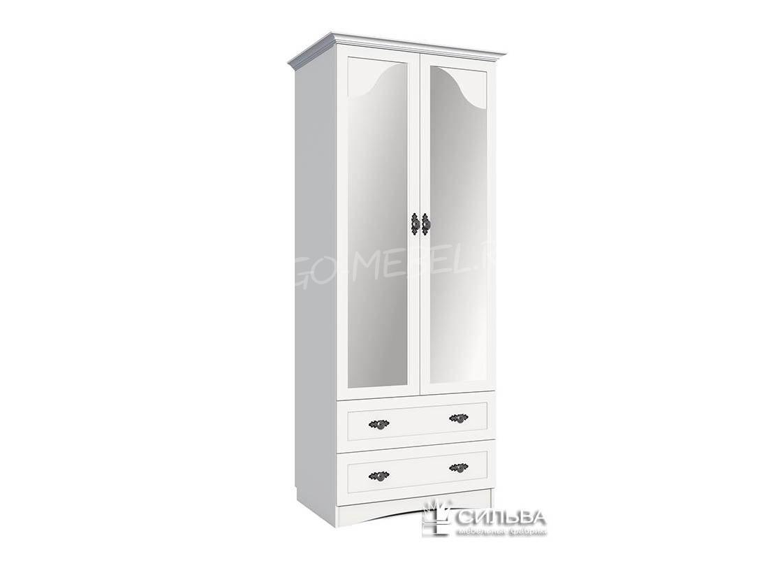 Прованс Шкаф для одежды с зеркалом НМ 009.16